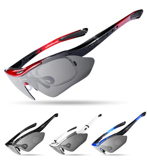 Polarized Cycling Sun Glasses with Vision Frame