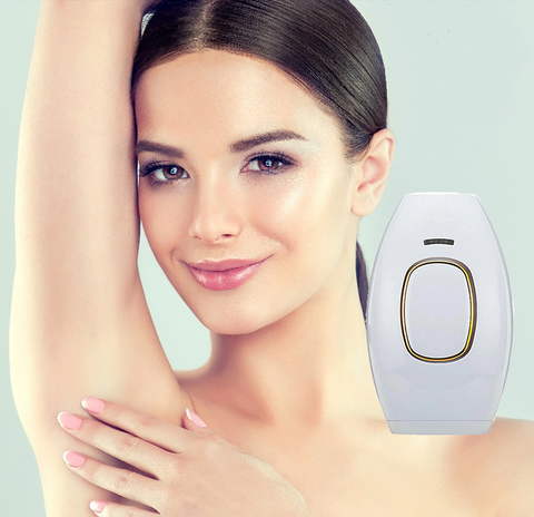 Image of Silky and Smooth IPL Laser Hair Removal Handset