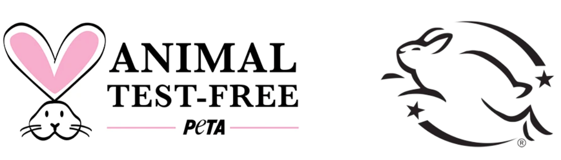 Leaping Bunny Logo and Peta Logo