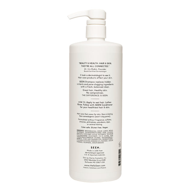 SEEN Shampoo, Fragrance Free, 1 Liter