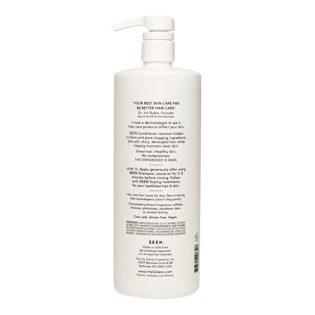 SEEN Conditioner, Fragrance Free, 1 Liter