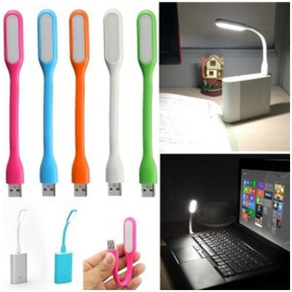 USB LED Lamp Flexibel - Rood - Lichtbron