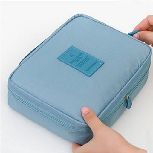 Make up Organizer Sky Blue / Cosmetic tas / Reis Toilet Bag - G&S
