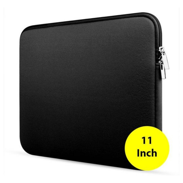 Zwart - Sleeve voor Laptops en Macbook - 11 inch - Laptopcover