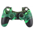 Protector Siliconen Skin PS4 Controller Silicone Hoes Playstation 4 Zwart / Groen - Controller skin