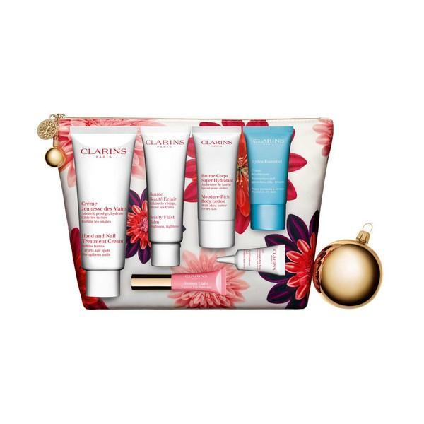 Cosmeticaset voor Dames Les Indispensables Week-end Essentials Clarins (7 pcs)