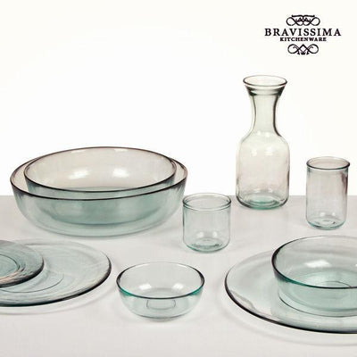 Vaas van gerecycled glas Soepel Lang - Pure Crystal Kitchen Collectie by Bravissima Kitchen