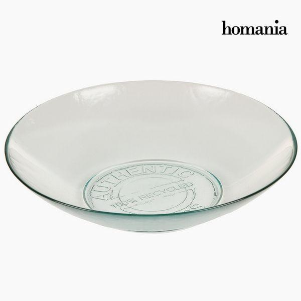 Kom van gerecycled glas Groot Transparant - Pure Crystal Kitchen Collectie by Homania