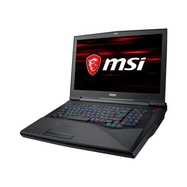Gaming Laptop MSI GT75-017ES 17,3'''' i9-8950HK 32 GB RAM 512 GB + 1 TB Zwart