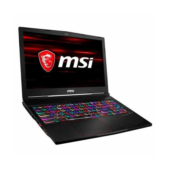 Gaming Laptop MSI GE63-031XES 15,6'''' i7-8750H 16 GB RAM 512 GB + 1 TB Zwart