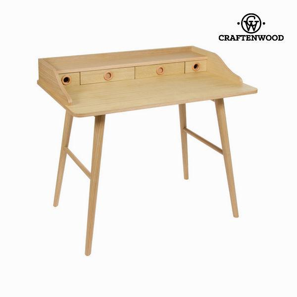 Bureau wood 4 lades - Modern Collectie by Craftenwood
