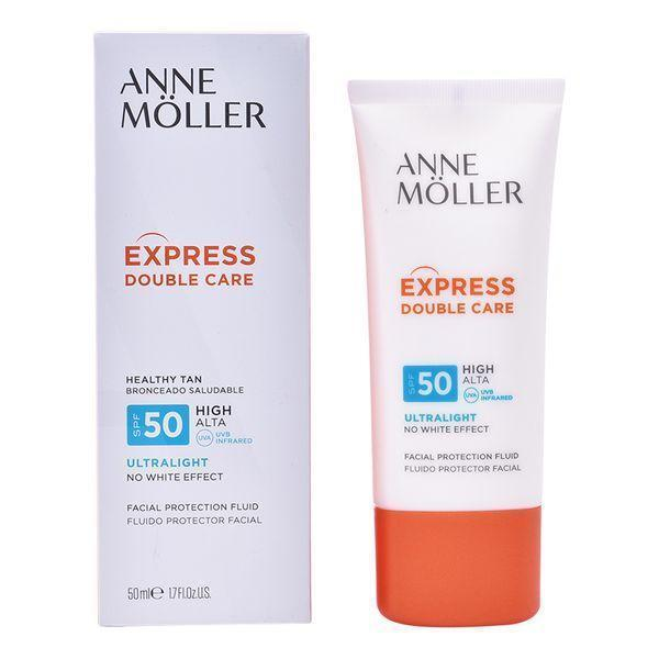 Zonnebrand Lotion Express Double Care Anne Möller Spf 50 (50 ml)