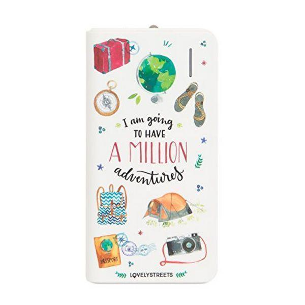 Power Bank Lovely Streets Mr. Wonderful LSPWB003 4000 mAh Avonturen Wit