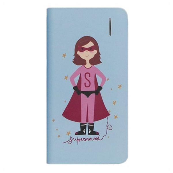 Power Bank Susiko SKPWB025 4000 mAh Blauw