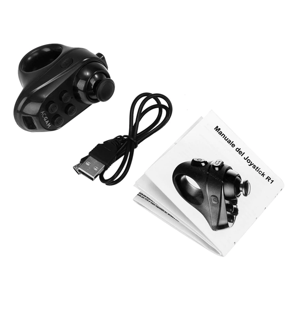 ACGAM R1 Bluetooth 4.0 - Draadloze Afstandsbediening - Mini Game Controller Joystick voor Smart phone - Controller