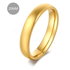 Trouwring - Dames / Heren - Verguld - 20MM - Ring (sieraad)