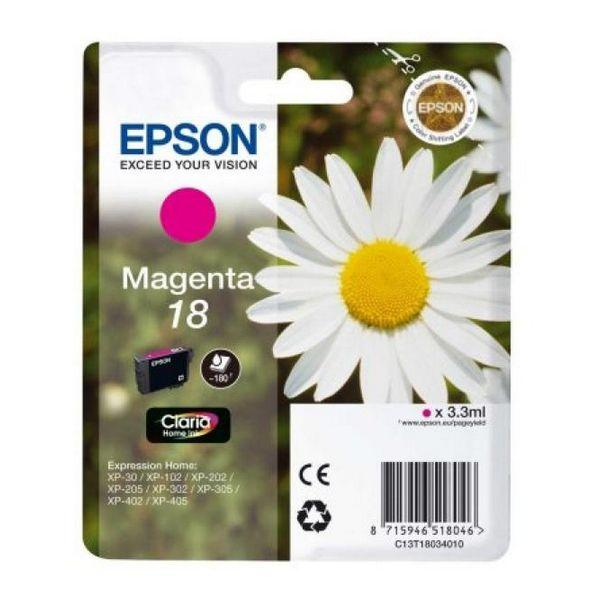 Originele inkt cartridge Epson C13T18034010 Magenta