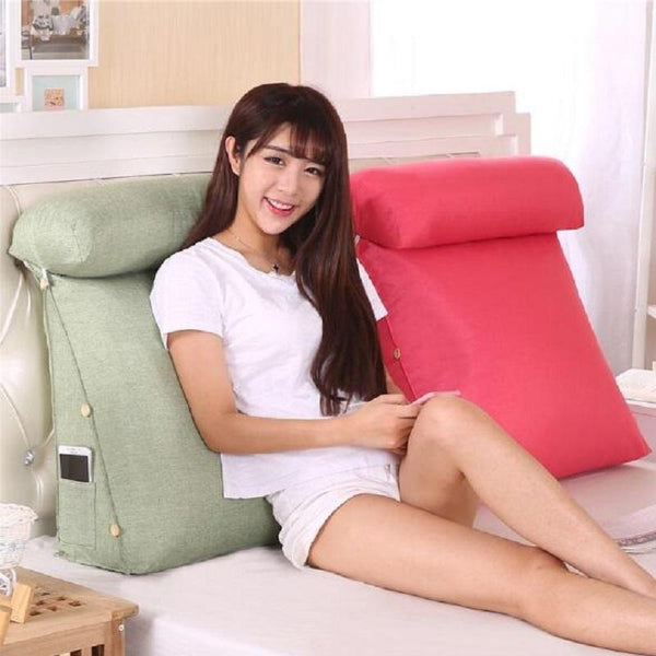 Decoratieve Hoofdkussens - X301/Stereo Bed Triangular Backrest Pillow