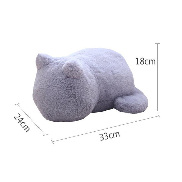 Decoratieve Hoofdkussens - X244 /  Super Soft PP Cotton Plush Cat Cushions Pillow