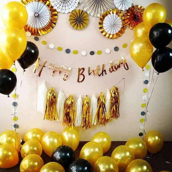 Verjaardag Decoratie - Happy Birthday Banier