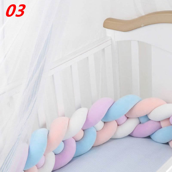 Decoratieve Hoofdkussens - X328 / Length Cotton Soft Newborn Baby Bed