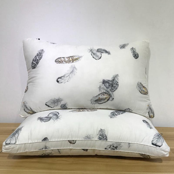 Decoratieve Hoofdkussens - X262 /Feather Printed Luxury Soft