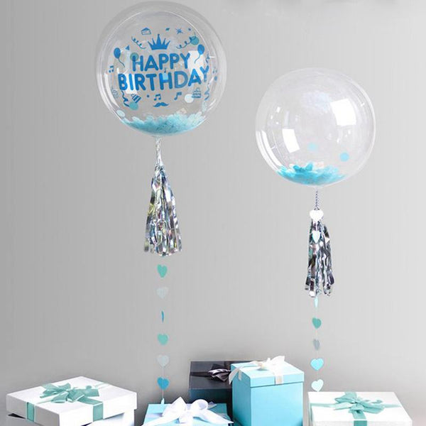 Verjaardag Decoratie - Ballonnen - Happy Birthaday / I Love You