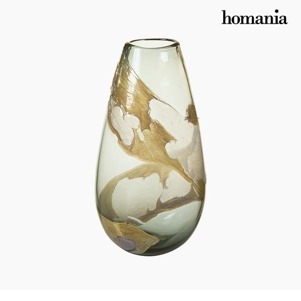 Vaas Kristal (21 x 14 x 37 cm) - Pure Crystal Deco Collectie by Homania