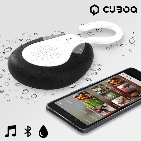 CuboQ Shower Waterbestendige Bluetooth Luidspreker