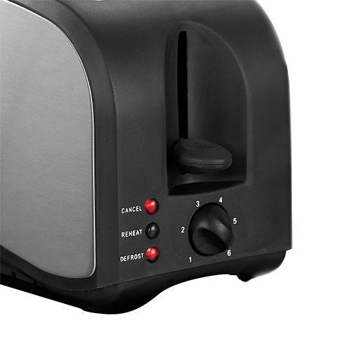Broodrooster Tristar BR1022 800W Zwart Staal