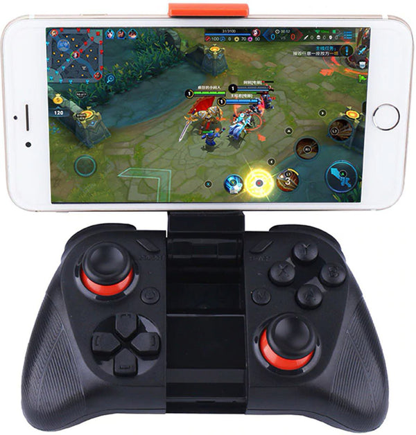MOCUTE 050 VR Game Pad Android Joystick Bluetooth Controller Selfie Afstandsbediening Sluiter Gamepad voor PC Smart Phone + Houder -