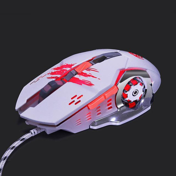 Professionele Gaming Muis 3200 DPI LED Optical USB - Gaming muizen