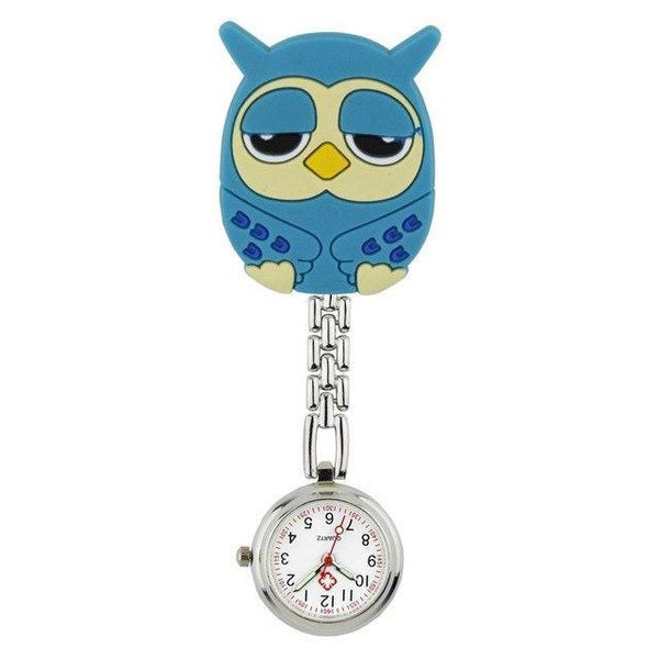 3D Cartoon Zuster Horloge - Horloge