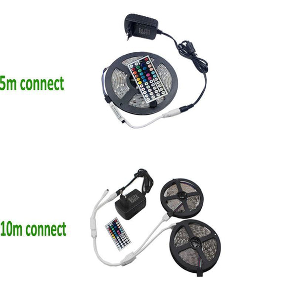 LED Strip RGB DC 12V-Adapterset - LED