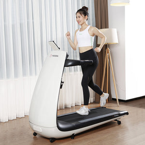 Foldable for easy storage of treadmill