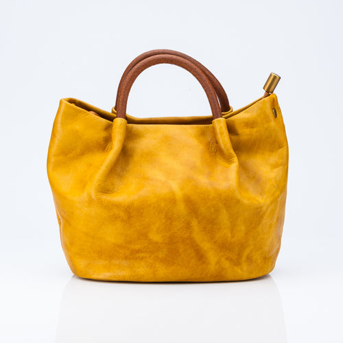 Ruched Mini Tote Bag - jindesignsuk