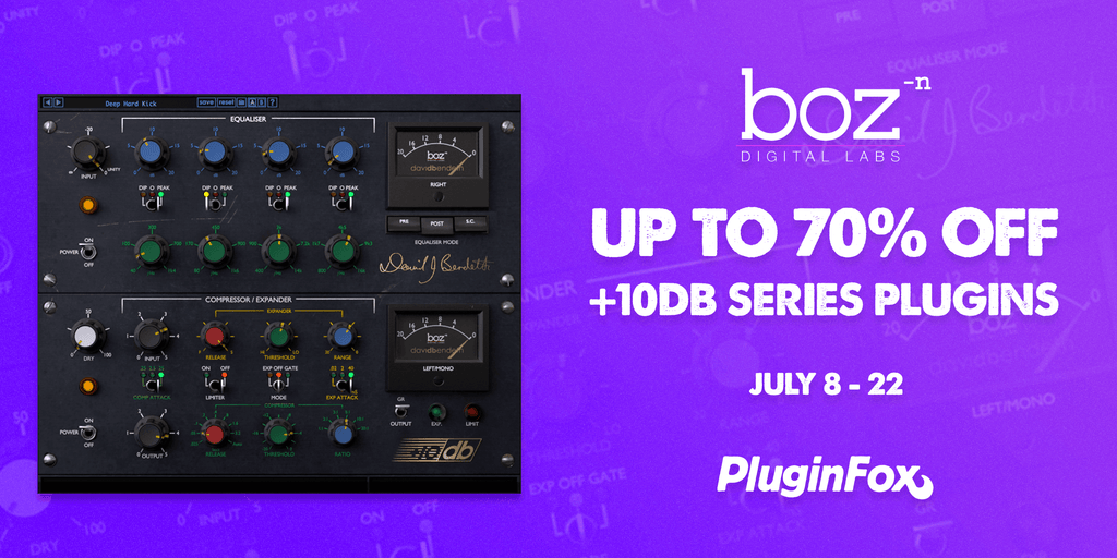 Boz Digital Labs Sale - July 8-22