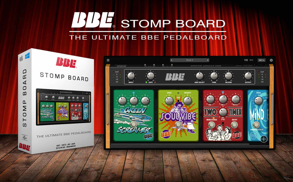 BBE Sound release Stomp Board