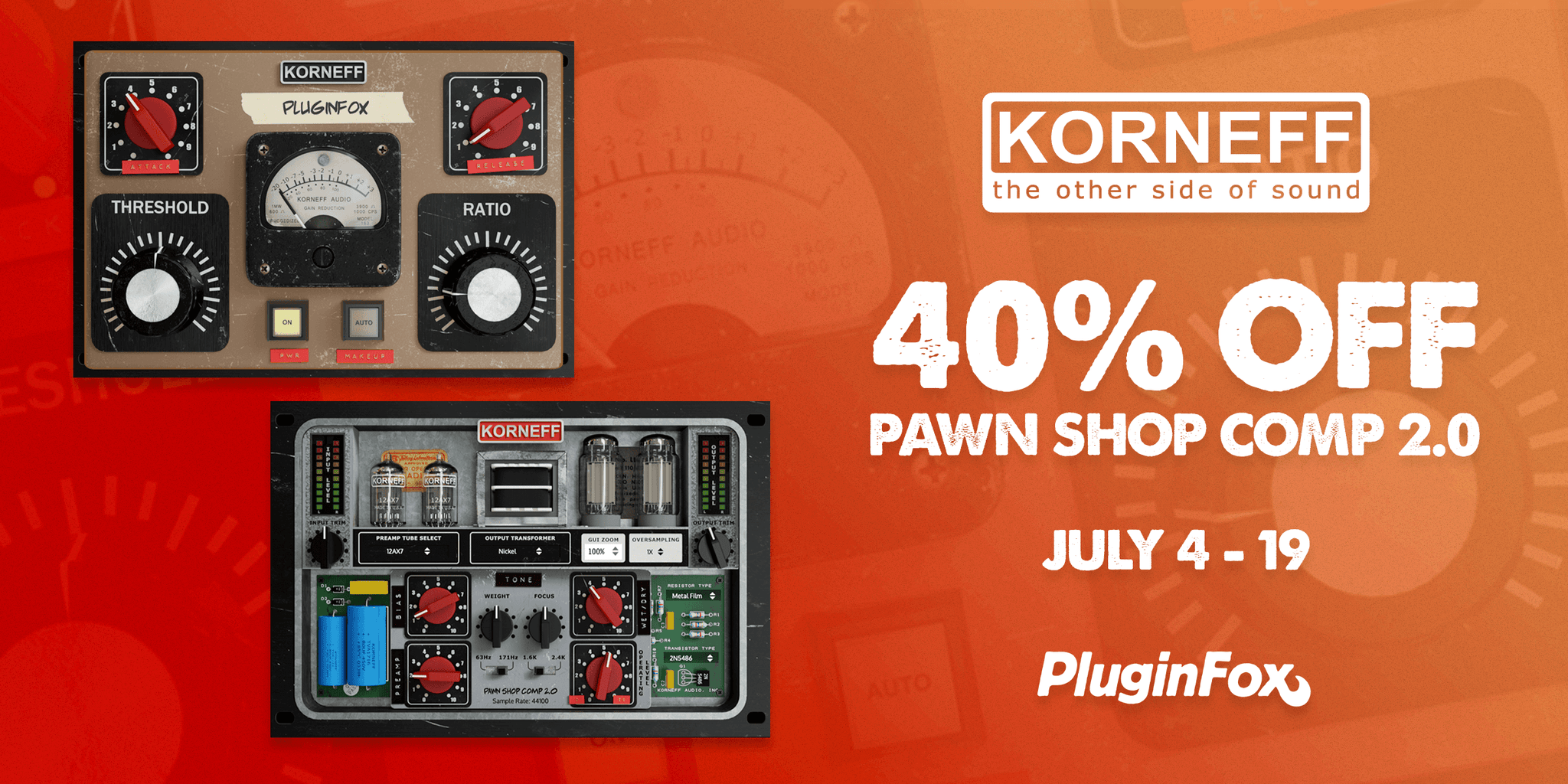 Korneff Audio Intro Sale - July 4-19
