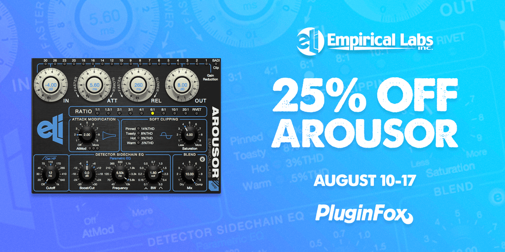 Empirical Labs Arousor Sale - August 10-17