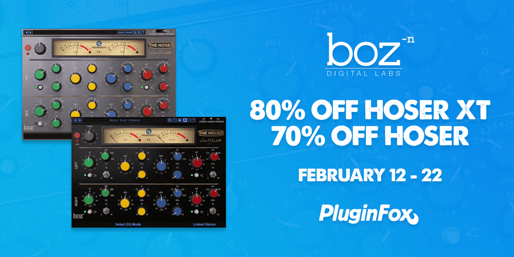 Boz Digital Labs Hoser Sale - Feb 12-22