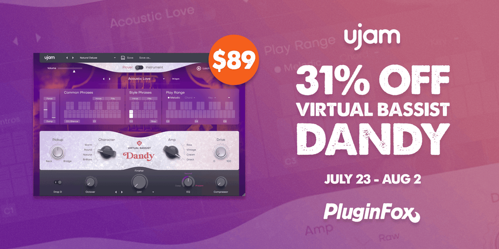 UJAM Dandy Intro Sale - July 23 - Aug 2