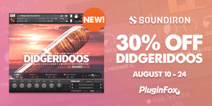 Soundiron Didgeridoos Intro Sale - Aug 10-24