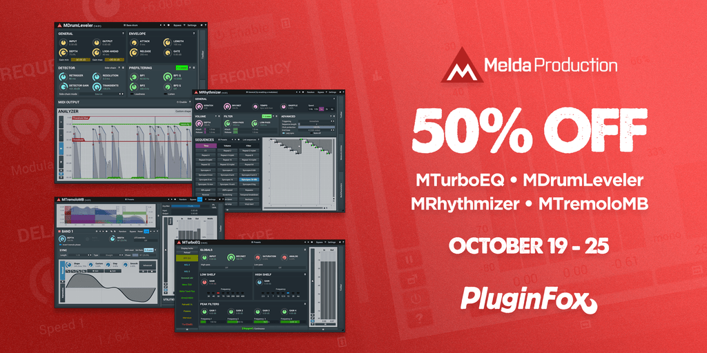MeldaProduction EMD Sale - Oct 19-25