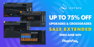 iZotope Loyalty Sale Extended - June 1-16