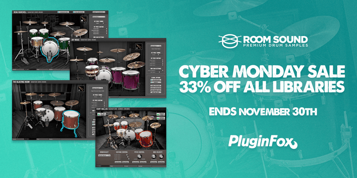 Room Sound Cyber Monday Sale - PluginFox Exclusive                       loading=