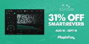 Sonible Smart Reverb Intro Sale - Aug 10 - Sept 10