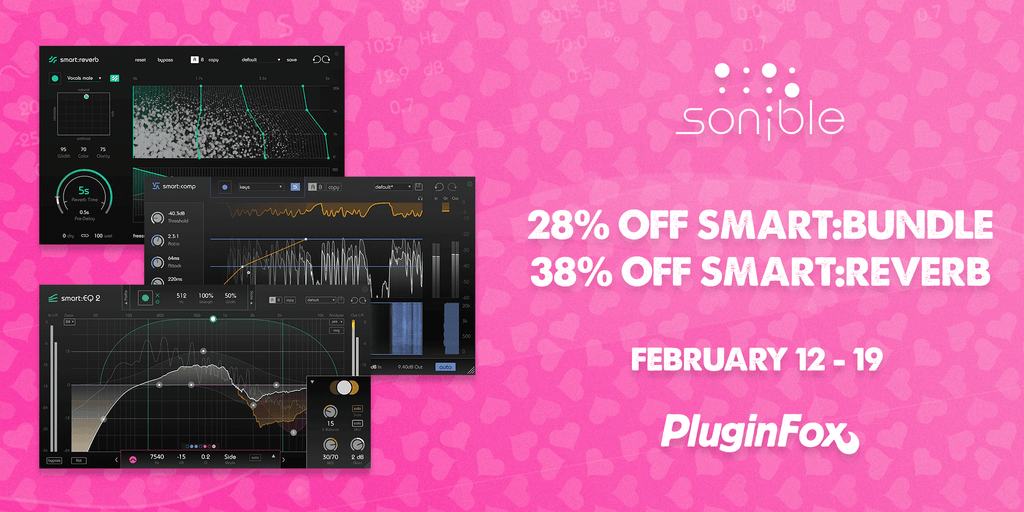 Sonible Valentines Sale - Feb 12-19