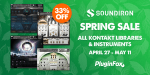Soundiron Spring Sale April 27 - May 11