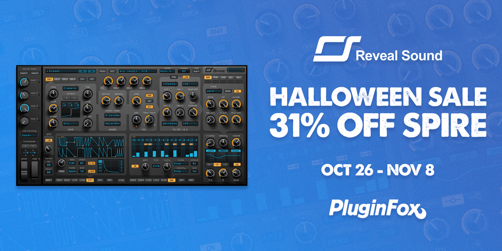 Reveal Sound Halloween Sale - Oct 26 - Nov 8